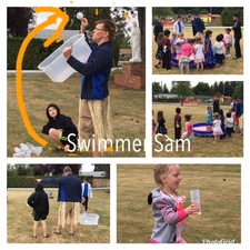 Photo Grid Swimmer Sam